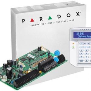Centrala Paradox Spectra cu 16 zone cutie si tastatura SP7000(CT)+K32LCD