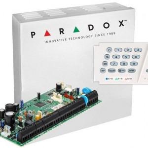 Centrala Paradox Spectra cu 8 zone cutie si tastatura SP6000(CT)+K636