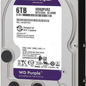 HDD WD Purple Surveillance 6TB WD62PURZ