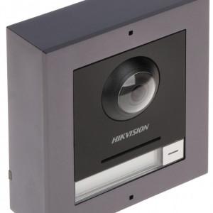 Post exterior HikVision 3 module aparent DS-KD8003-IME1/Surface+DS-KD-E+DS-KD-KK+DS-KD-ACW3
