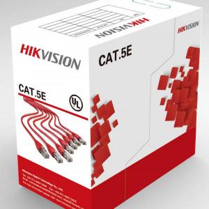 Cablu U/UTP Cat.5e, 4xAWG24, PVC, gri, cutie 305m,integral cupru DS-1LN5E-S