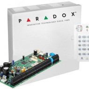 Centrala Paradox Spectra cu 8 zone cutie si tastatura SP6000(CT)+K10V