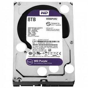 HDD WD Purple Surveillance 8TB WD80PURZ