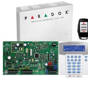 Kit Centrala Magellan Paradox cutie tastatura si telecomanda MG5000(CT)+K37+PA6+REM15