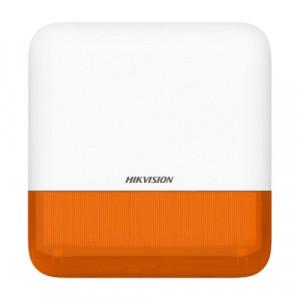 Alarma fără fir Hikvision cu led Rosu, WiFi DS-PS1-E-WE-O