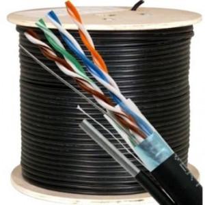 Cablu FTP Well cu sufa Cat. 5E, 8 fire, cupru FTPMES5E-CU-305-WL
