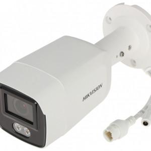 Camera HikVision IP ColorVu 8MP cu slot card de 256GB si microfon incorporat DS-2CD2087G2-LU