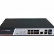 Switch HikVision 8 porturi PoE cu web interface DS-3E2310P