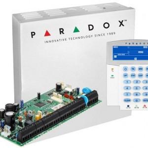 Centrala Paradox Spectra cu 8 zone cutie si tastatura SP6000(CT)+K35