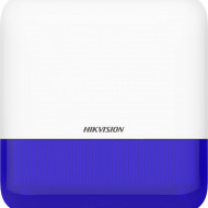 Sirena HikVision Wireless AX PRO de exterior cu led albastru 868Mhz DS-PS1-E-WE-B