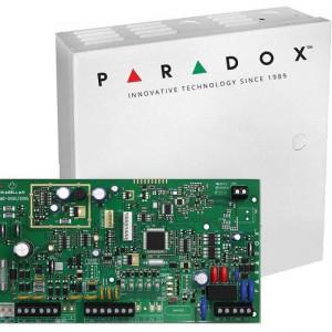Centrala Paradox MAGELLAN 2 intrari cu emitator-receptor 32 de zone ( oricare poate fi radio ) plus cutie si traf MG5000(CT)