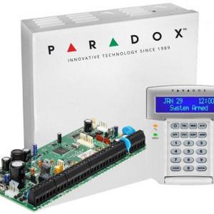 Centrala Paradox Spectra cu 8 zone cutie si tastatura SP6000(CT)+K32LCD