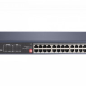 Switch HikVision 20 porturi PoE Gigabit , 4 porturi HiPoE Gigabit si un doua porturi Gigabit fibra optica DS-3E0528HP-E