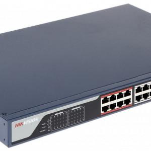 Switch HikVision 24 porturi PoE cu web interface DS-3E1326P-EI