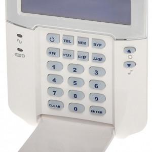 Tastatura cablata LCD Paradox cu 32 de zone K32LCD