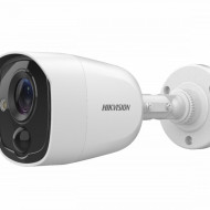 Camera Hikvision Turbo HD 5MP cu alarma si senzor PIR DS-2CE11H0T-PIRLPO