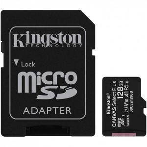 Card MicroSD Kingston 128GB Canvas Select plus SDCS2/128GBSP
