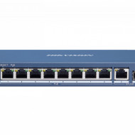 Switch 8 porturi PoE Gigabit Hikvision DS-3E0510P-E/M
