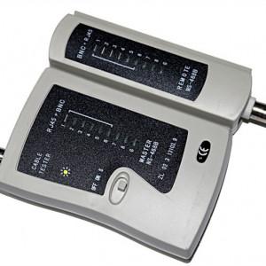 Tester pentru cablu UTP/FTP/COAXIAL NSHL 468 B
