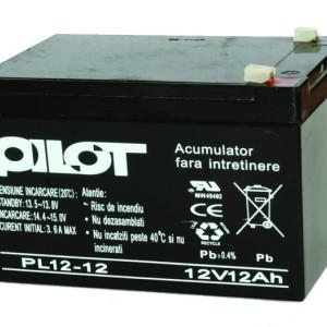 Acumulator PILOT 12 AH/12V PL 12 AH