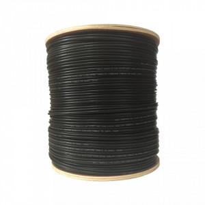 Cablu coaxial Well din cupru cu alimentare RG59/2C-CU/CCA-305-WL