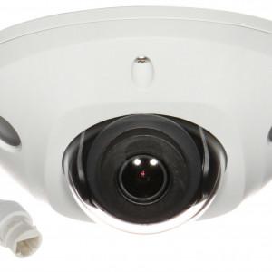 Camera HikVision IP 5MP DarkFighter IR 10m mini dome cu microfon si Wi-Fi DS-2CD2555FWD-IWS(D)
