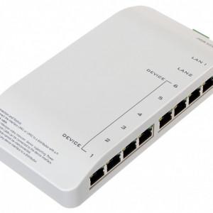Distribuitor videointerfonie IP HikVision DS-KAD606-N