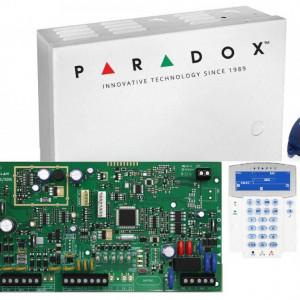 Kit Centrala Magellan Paradox cutie tastatura si telecomanda MG5000(CT)+K35++REM1