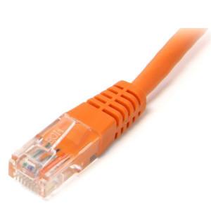 Patch cord UTP cat.6 - 0.5 m portocaliu