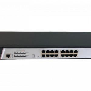 Switch 16 porturi PoE Hikvision DS-3E2318P