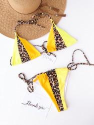 Costum de baie WILD Yellow