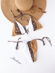 Costum de baie WILD Cream