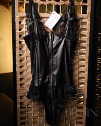 Set Leather Zipper