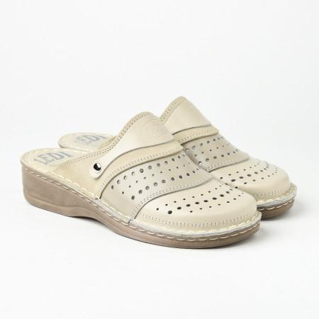 Slika Kožne papuče 670 bež