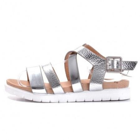 Slika Sandale za devojčice BS27839 srebrne(brojevi od 25 do 30)