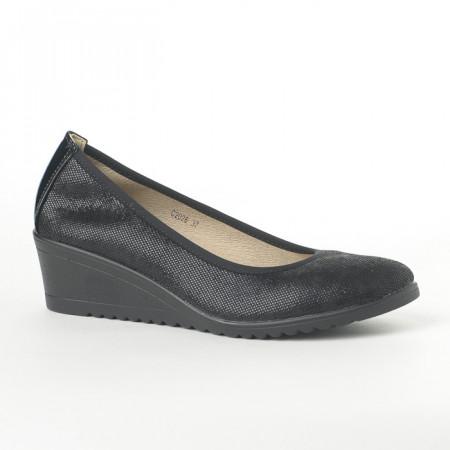 Slika Cipele na malu petu C2026 crne