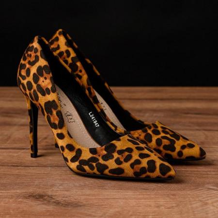 Slika Cipele na štiklu L241947 leopard