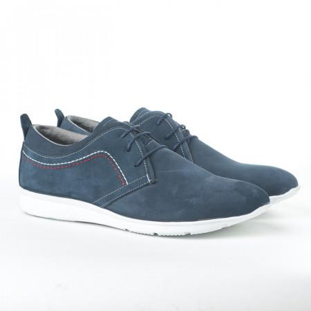 Slika Kožne muške cipele 140 teget