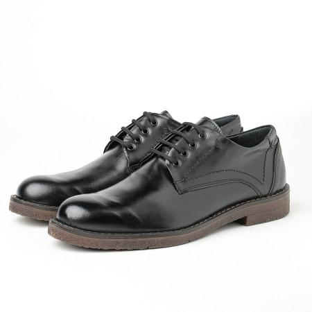 Slika Kožne muške cipele Gazela 5988-01 crne