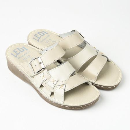 Slika Kožne papuče 641 bež