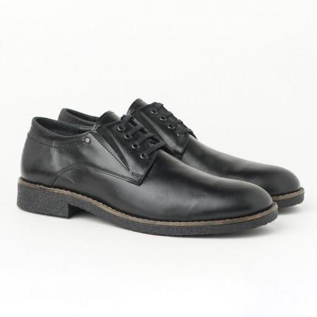 Slika Muške kožne cipele 5880-01 crne