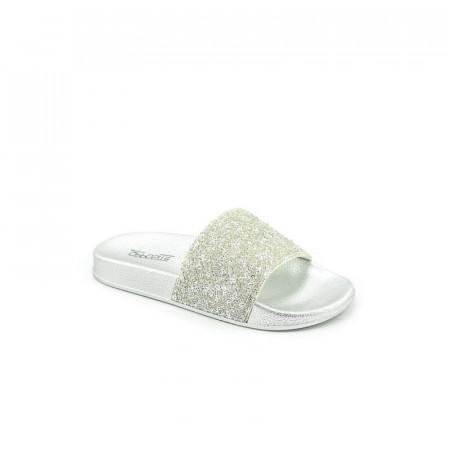 Slika Papuče za devojčice CP020361 srebrne