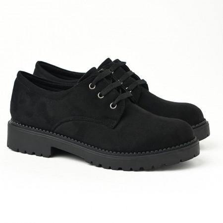 Slika Ravne jesenje cipele 623-858 crne
