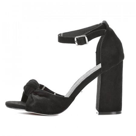 Slika Sandale na štiklu LS241911 crne