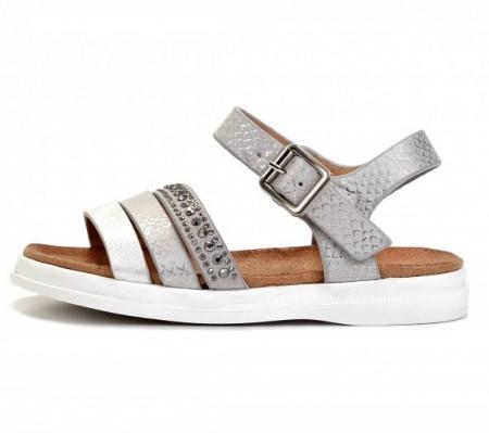 Slika Sandale za devojčice BS271939 srebrne (brojevi od 25 do 30)