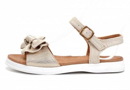 Slika Sandale za devojčice CS271938 zlatne (brojevi od 31 do 36)