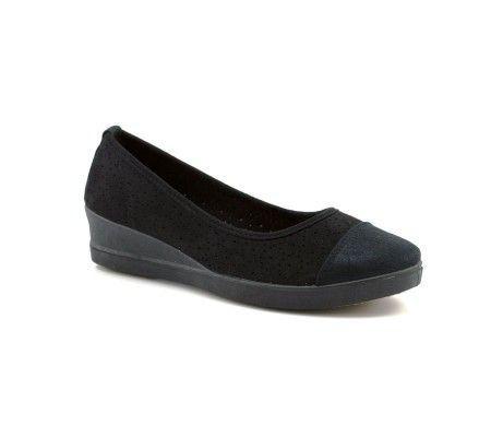 Slika Ženske cipele / mokasine L80840-1 crne