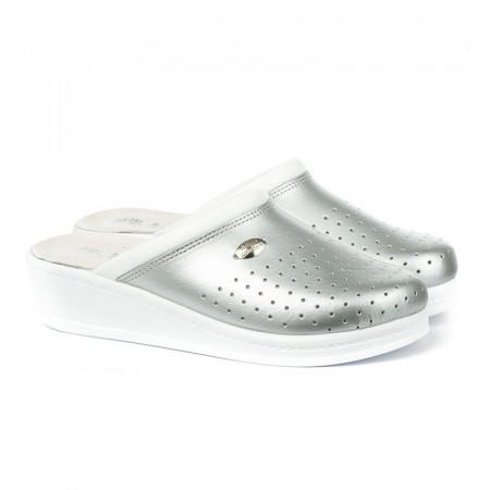 Slika Anatomske papuče MEDICAL 100 srebrne