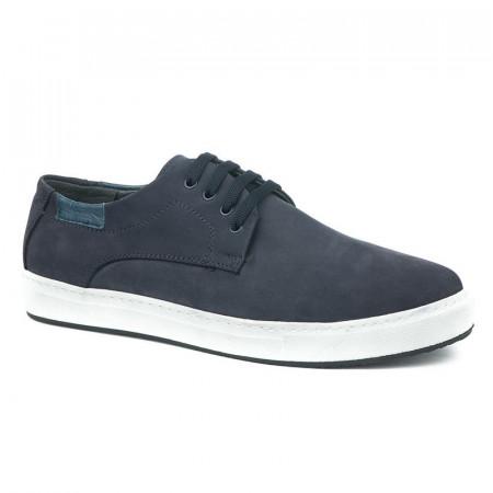 Slika Kožne muške cipele/patike 5293 teget