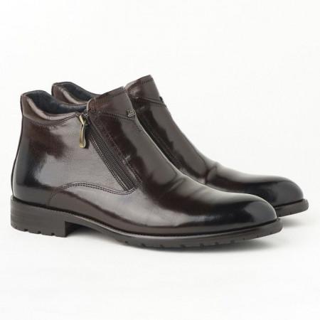 Slika Kožne muške duboke cipele HL-H322D-18A braon
